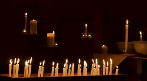 prayers around the cross candles color
